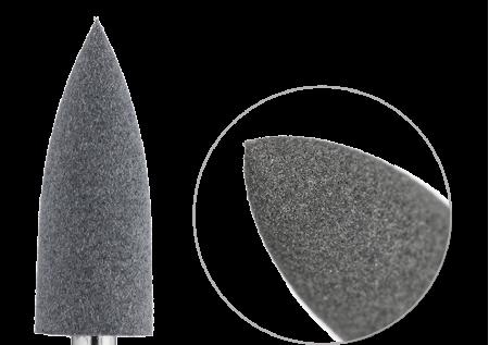 Полировщик пулевидный силикон-карбидный средний 6мм