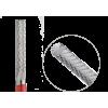 123.140.023 Насадка фреза твердосплавная цилиндр мелкая крестообразная нарезка 2,3мм