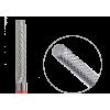 123.140.023f Насадка фреза твердосплавная цилиндр мелкая крестообразная нарезка 2,3мм