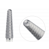 201.134.040 Насадка фреза твердосплавная конус закругленный мелкая спиральная нарезка 4мм