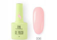 Гель-лак TNL 8 Чувств №006 - розовый румянец 10мл