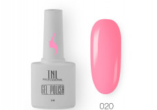 Гель-лак TNL 8 Чувств №020 - розовая азалия 10мл