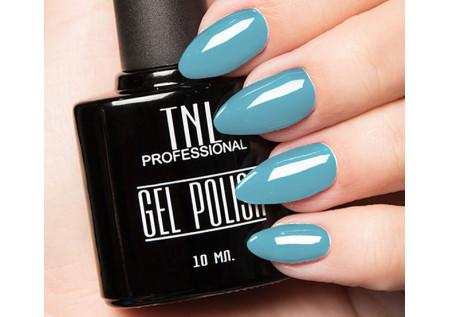 Гель-лак TNL №133 - голубой 10 мл