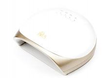 Лампа для гель-лака BOYA UV/LED 78W Lucky 5 белый верх, золотая основа