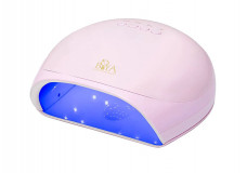 Лампа для гель-лака BOYA UV/LED 78W Lucky 5 розовая