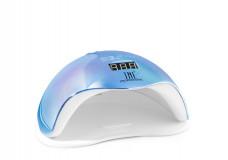Лампа для гель-лака TNL UV/LED 72W SUN 5 PLUS Brilliance перламутрово-голубая
