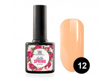 Гель-лак TNL Hello Spring №12 - абрикосовый щербет 10 мл