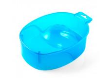 Ванночка для маникюра (прозрачно-синяя)