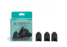 Силиконовые колпачки для снятия гель-лака (10 шт/упак) черные