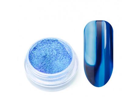 Металлическая втирка TNL голубая
