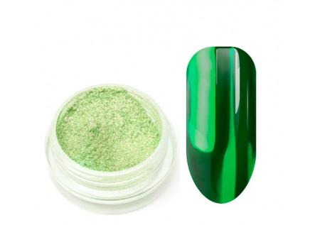 Металлическая втирка TNL зеленая