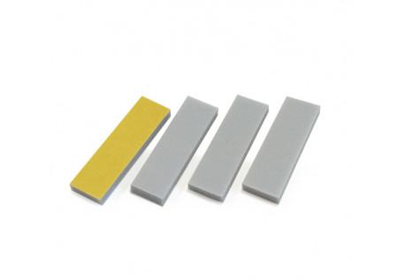 Сменные абразивные файл-баф Smart серые укороченные (25х70мм) 320 грит, 50 шт/уп