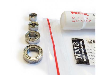 Комплект из 4-х подшипников для микромоторов Strong